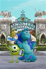 Monsters University iPhone fondos de pantalla