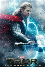 Thor: The Dark World iPhone fondos de pantalla