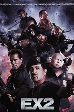 The Expendables 2 iPhone fondos de pantalla