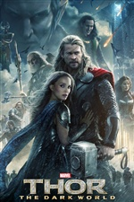 Thor: The Dark World 2013 iPhone fondos de pantalla