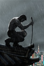2013 The Wolverine iPhone fondos de pantalla