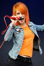 Hayley Williams 02 iPhone fondos de pantalla