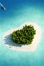 Love Island iPhone fondos de pantalla