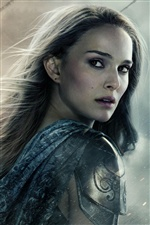 Natalie Portman en Thor: The Dark World iPhone fondos de pantalla