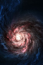 Universo Red galaxia iPhone Fondos de pantalla