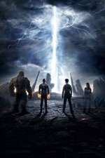 Fantastic Four 2015 iPhone fondos de pantalla