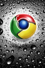Logotipo de Google Chrome iPhone fondos de pantalla