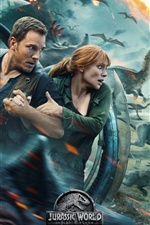 Jurassic World: Fallen Kingdom 2018 iPhone fondos de pantalla